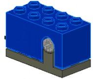 2977c01-7 Rotatiesensor blauw NIEUW *0D000