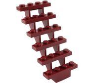 30134-59 Trap 7x4x6 open rood, donker NIEUW *5D0000