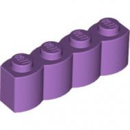 30137-157 Steen 1x4 gewelfd lavender, midden NIEUW *1L2-15