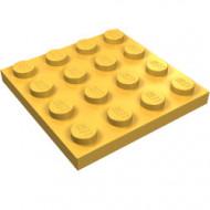 3031-31 Platte plaat 4x4 oranje, midden NIEUW *5K0000