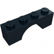 3659-11G Steen, boog 1x4x1 hoog zwart gebruikt *