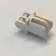 4220-1G Arm recht met drie vingers (grap holder) wit gebruikt *5K000