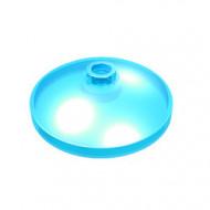 43898-15 Schotel 3x3 transparant lichtblauw NIEUW *1L0000