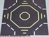 6099p02-11G Basisplaat 32x32 Landingsplaats zwart gebruikt *3K000