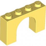 6182-103 Steen, boog 1x4x2 hoog geel, lichthelder NIEUW *1L000