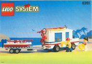 Set 6351 BOUWBESCHRIJVING- Surf N'Sail camper Ruimtevaart gebruikt loc LOC M2