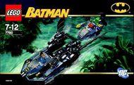 Set 7780 BOUWBESCHRIJVING-  Batman: Hunt for the Killer Croc Batman gebruikt loc