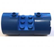93168-7 Cylinder 3x6x2 2/3 Nieuwe type gevulde noppen 2x6 blauw gebruikt *
