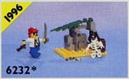 Set 6232-G - Pirates: Skeleton Crew H/97-100%- gebruikt