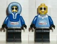 arc005G Arctic - Male, blauw, blauw hood gebruikt *0M0000