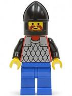 cas152G Scale Mail - rode, Black Chin-Guard, blauw benen gebruikt loc