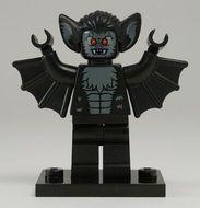 col08-11 Vampier vleermuis met standaard NIEUW loc Halloween
