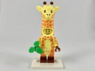 coltlm2-4 Giraffe Guy met bloemblaadje en standaard NIEUW loc