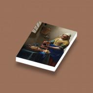 CUS4012 Tegel 2x3 Melkmeisje- Vermeer wit NIEUW *0A000