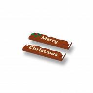 CUS5002 Tegel 1x4 (2x) MERRY CHRISTMAS wit NIEUW *0A000