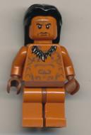 iaj015 Indiana Jones- Ugha Warrior met haar NIEUW *0M0000