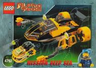 INS4792-G 4792 BOUWBESCHRIJVING- Alpha Team- Navigator and ROV gebruikt *