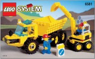 INS6581-G 6581 BOUWBESCHRIJVING- Dig 'n Dump gebruikt *LOC M3