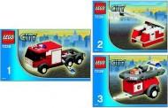 INS7239-G 7239 BOUWBESCHRIJVING- Fire Truck gebruikt *LOC M3