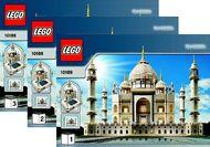Set 10189 BOUWBESCHRIJVING- Taj Mahal NIEUW loc LOC M6