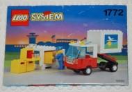 Set 1772 BOUWBESCHRIJVING- |Airport- containertransport gebruikt loc LOC M1