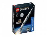 Set 21309-GB NASA Apollo Saturn V gebruikt deels gebouwd *B036