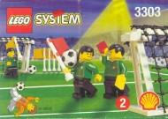 Set 3303 BOUWBESCHRIJVING- Voetbal veldbenodigdheden gebruikt loc LOC M1