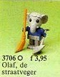Set 3706-G - Fabuland: Elmer Elephant -/-/100%- gebruikt