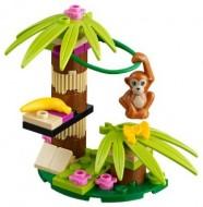 Set 41045-G - Friends: Orangutan's Bananas Tree D/H/97%- gebruikt