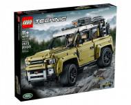 Set 42110-GB Land Rover Defender gebruikt deels gebouwd *B036