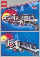 Set 4558 BOUWBESCHRIJVING- Metroliner Treinen gebruikt loc LOC M1