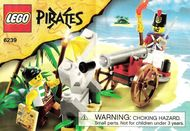 Set 6239-G - Pirates: Cannon Battle D/H/C 97-100%- gebruikt