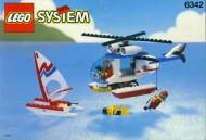 Set 6342 BOUWBESCHRIJVING- Beach Rescue Chopper Ruimtevaart gebruikt loc LOC M2