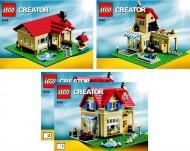 Set 6754 BOUWBESCHRIJVING- Family Home gebruikt loc