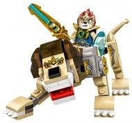Set 70123 - Legends of Chima: Lion Legend Beast zonder doos- gebruikt