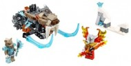 Set 70220 - Legends of Chima: Strainor's Saber Cycle zonder doos- gebruikt