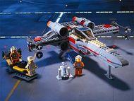 Set 7140-G - Star Wars: X-wing Fighter zonder doos- gebruikt