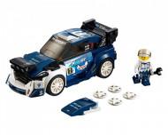 Set 75885-GB Ford Fiesta M-Sport WRC gebruikt deels gebouwd *B036