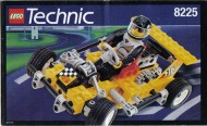 Set 8225 BOUWBESCHRIJVING- Road Rally V Technic gebruikt loc loc box1