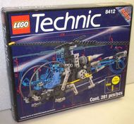 Set 8412 - Technic: Nighthawk helikopter- Nieuw