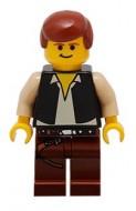 sw0045G Star Wars:Han Solo met bruine benen met Holster Pattern gebruikt *0M0000