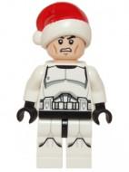 sw596 Star Wars:Clone Trooper met Santa muts NIEUW loc