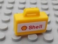 4449pb02-3G Koffer SHELL Geel NIEUW loc L16-14