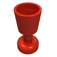 2343-5 Bokaal rood NIEUW *0L0000