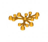 2417-110 Bladen 5x6 oranje, lichthelder NIEUW loc