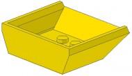 2512-3G Laadbak 4x4 klein Geel gebruikt loc