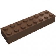 3007-8G Steen 2x8 bruin (klassiek) gebruikt *5K0000