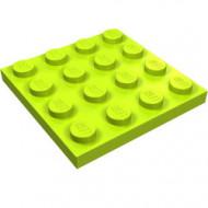 3031-34 Platte plaat 4x4 lime NIEUW *5K0000