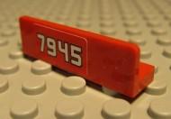 "30413pb008L-5G Paneel 1x4 ""7945"" links Rood grbruikt loc"