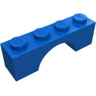 3659-7G Steen, boog 1x4x1 hoog blauw gebruikt *